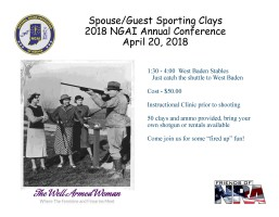 Spouse-Guest Sporting Clays