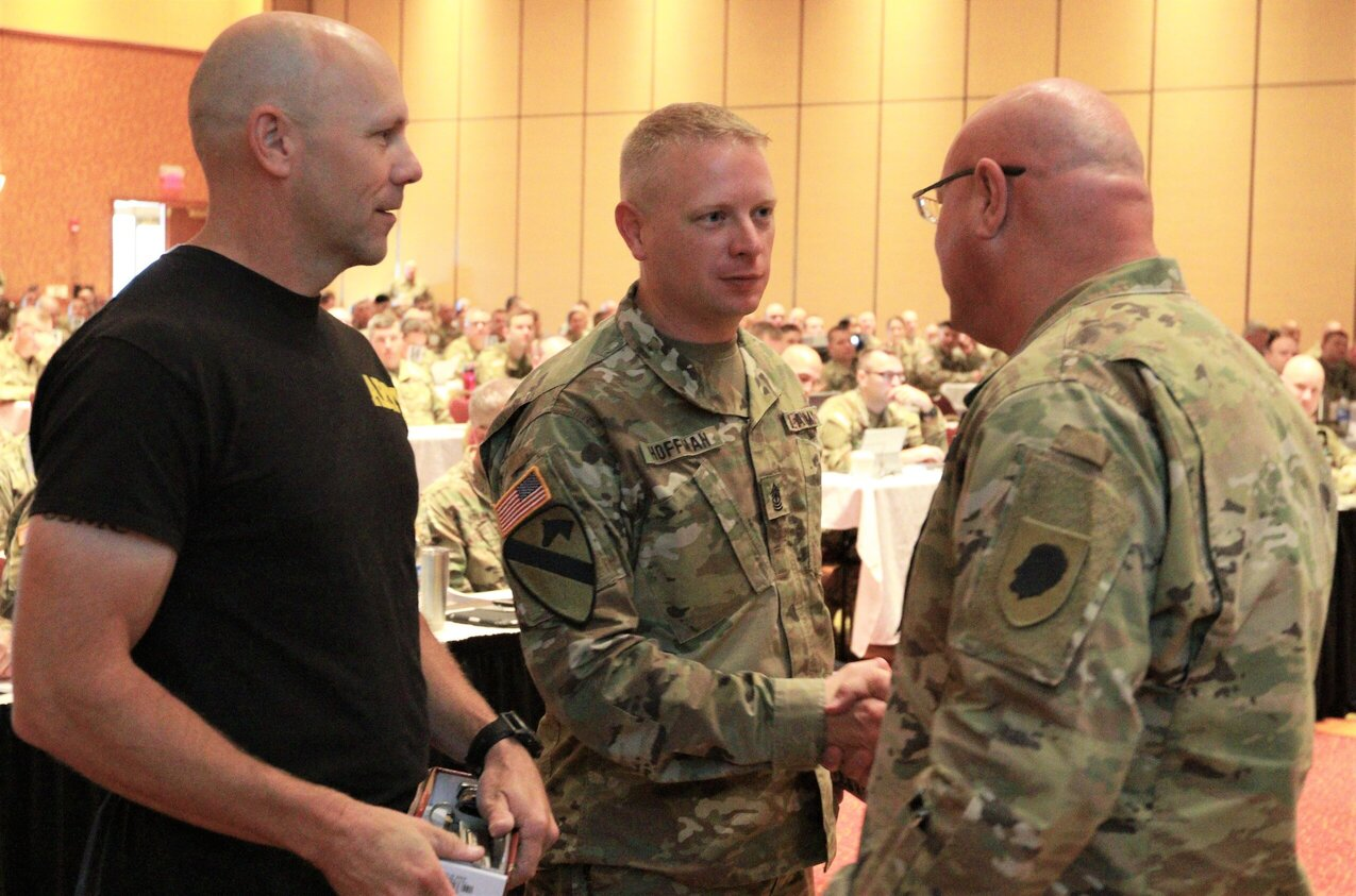 Illinois Army National Guard Leaders Tryout ACFT Events at Commanders Guidance Conference